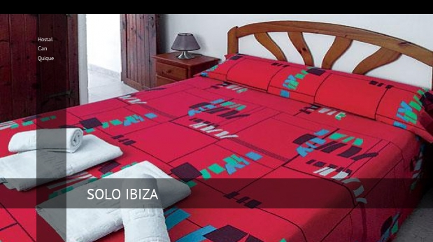 Hostal Can Quique booking