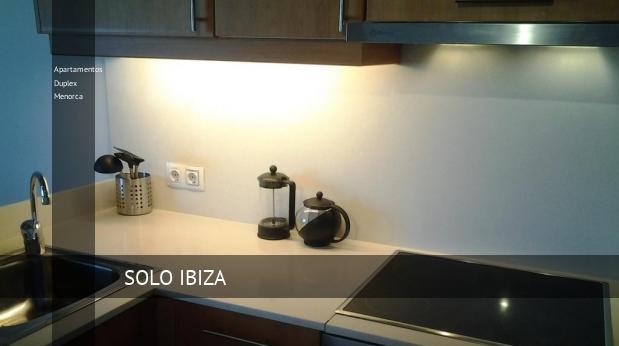 Apartamentos Duplex Menorca reverva