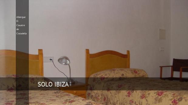 Albergue El Claustre de Ciutadella booking