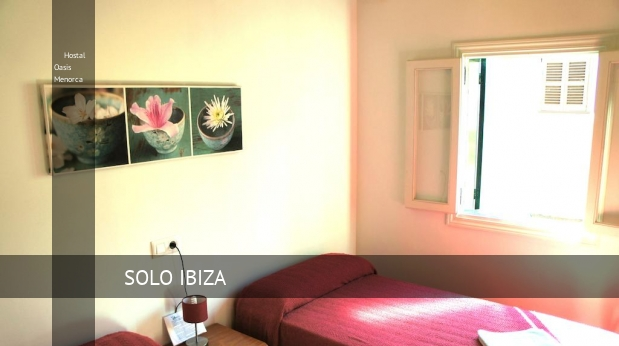 Hostal Oasis Menorca booking