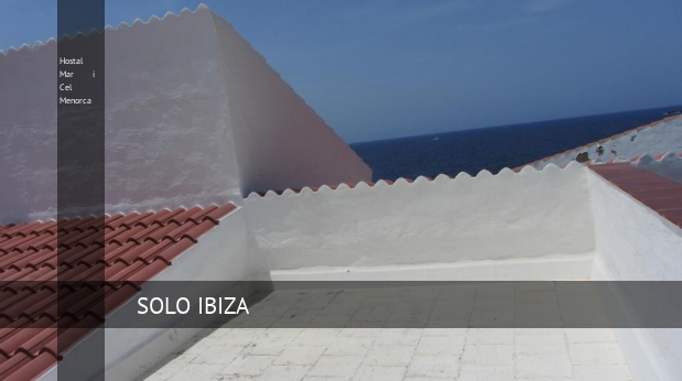 Hostal Mar i Cel Menorca reverva