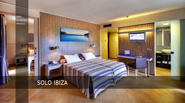 Hotel Occidental Menorca barato