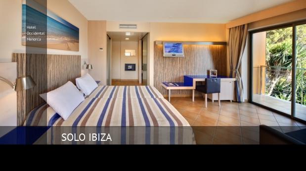 Hotel Occidental Menorca baratos