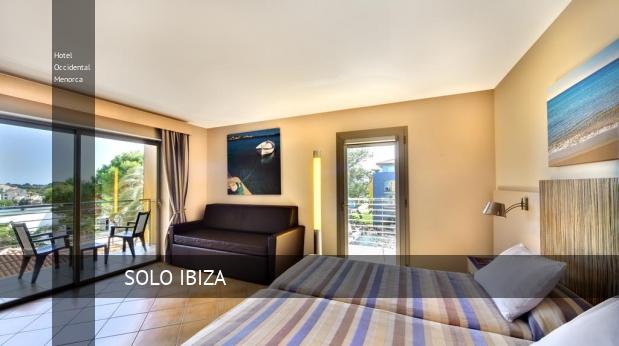 Hotel Occidental Menorca oferta