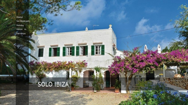 Hostal Six-Bedroom Holiday Home in Ferrerias