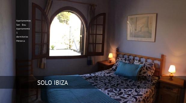 Apartamentos Son Bou Apartamento 3 dormitorios Menorca reverva