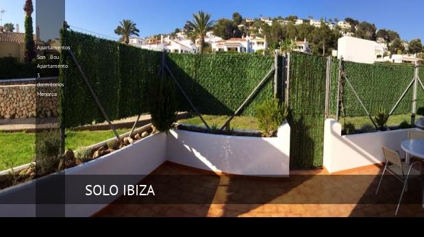 Apartamentos Son Bou Apartamento 3 dormitorios Menorca