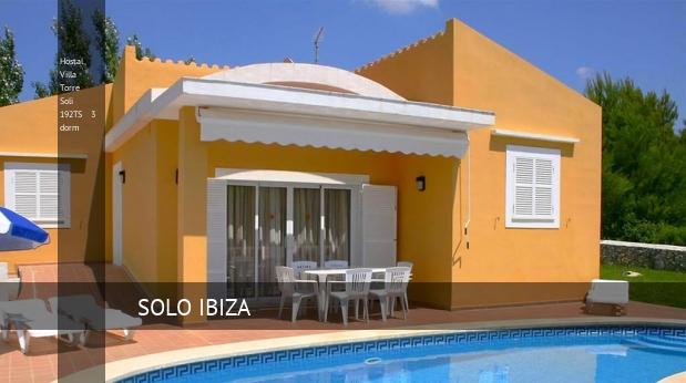 Hostal Villa Torre Soli 192TS 3 dorm