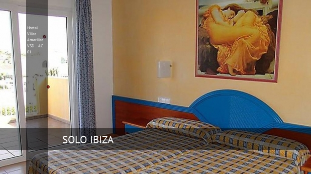 Hostal Villas Amarillas V3D AC 01