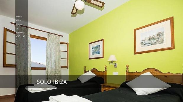Hostal Villas Playas de Fornells V3D AC 01