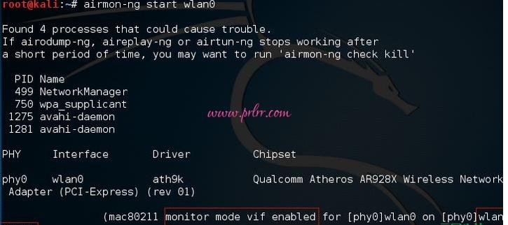 Kali Linux使用Aircrack破解wifi密码(wpa/wpa2)