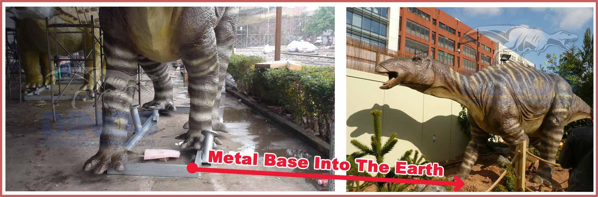 Animatronic-Dinosaurs-Metal-Base