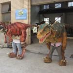 DWE3324-19 Best Friends Dinosaur Suit Team Velociraptor and Tyrannosaurus Rex
