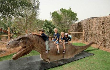 Dino ride T-rex