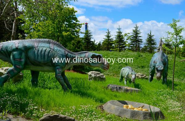 DWD1498 Maiasaura with baby nest