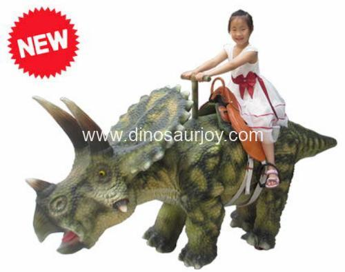 DWW012-1 Triceratops Ride