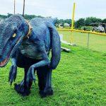 Realistic Dinosaur Costume Raptor