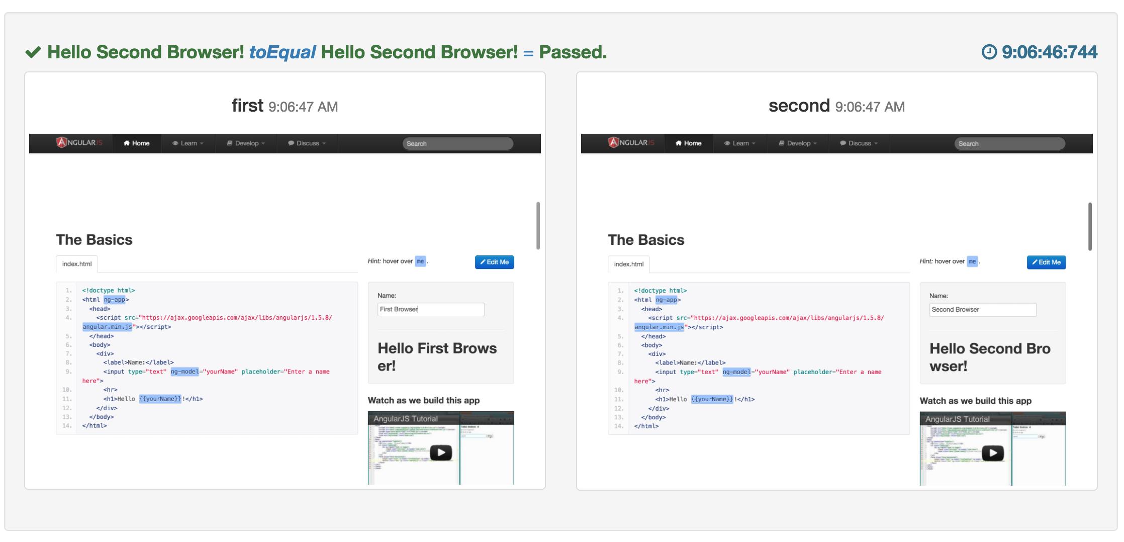 Screenshoter multi browsers