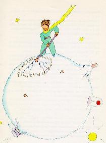 小王子 收拾星球 离开星球