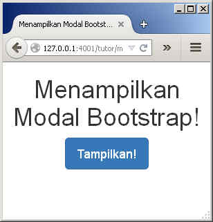 Cara Membuat Modal (Pop-Up) Menggunakan Bootstrap