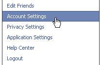 Deaktivasi akun facebook