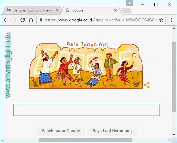 Google Ikut Sumpah Pemuda