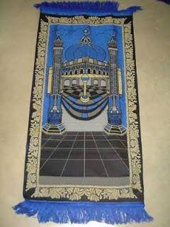 Waspadalah, Sajadah Berlambang Dajjal Freemason