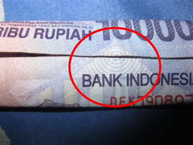 Lambang Illuminati Ada di Uang Rp 10.000...