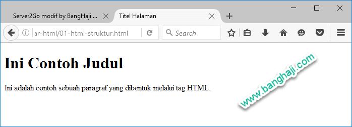 Belajar HTML (01): Kenalan Dulu…