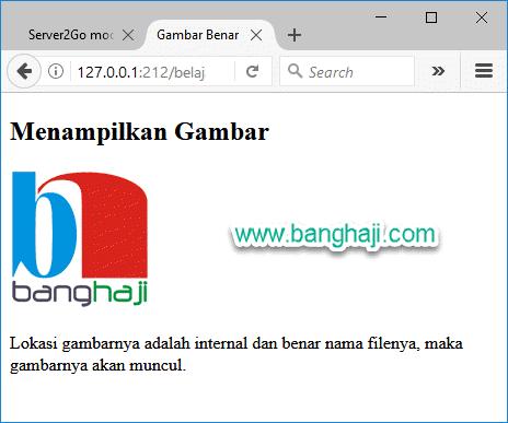 HTML Gambar Benar