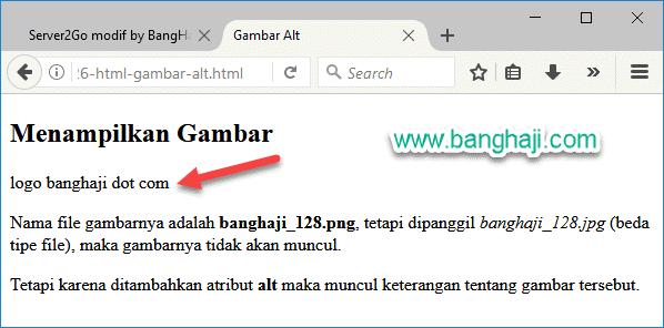 HTML Gambar Alt