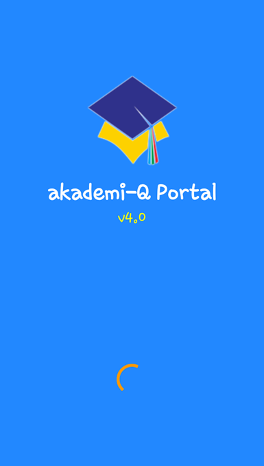 Splashscreen akademi-Q Portal