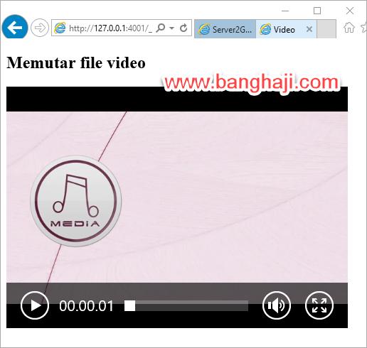 Video Player Web