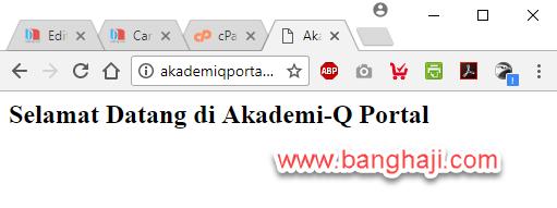 Akademi-Q Portal Online