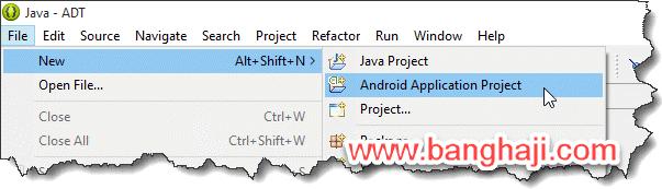 Android & Eclipse (05): Membuat Aplikasi Pertama