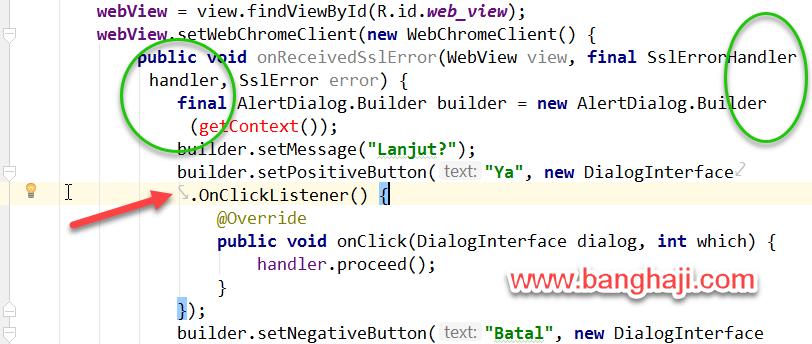 Memotong Kode Android Studio Current Line