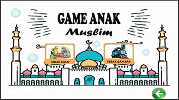 Menu Game Anak Muslim
