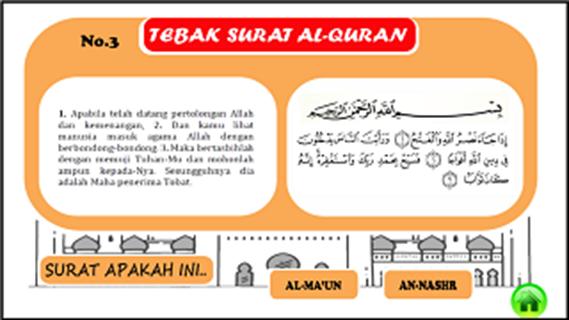Tebak Surat Game Anak Muslim