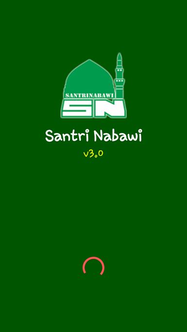 Splash Screen Santri Nabawi