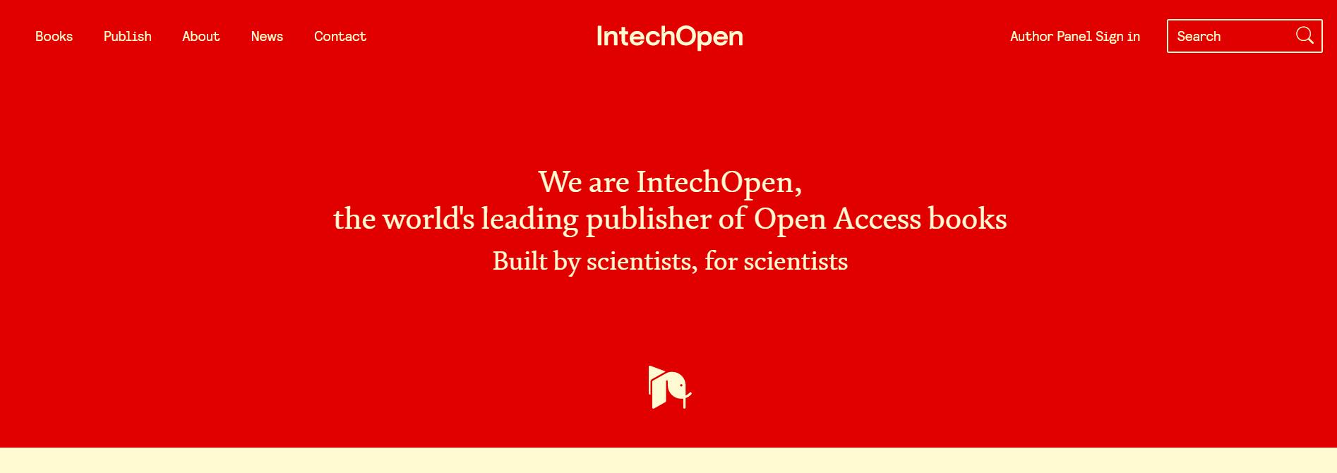 学术搜索引擎-论文必备工具-Intechopen