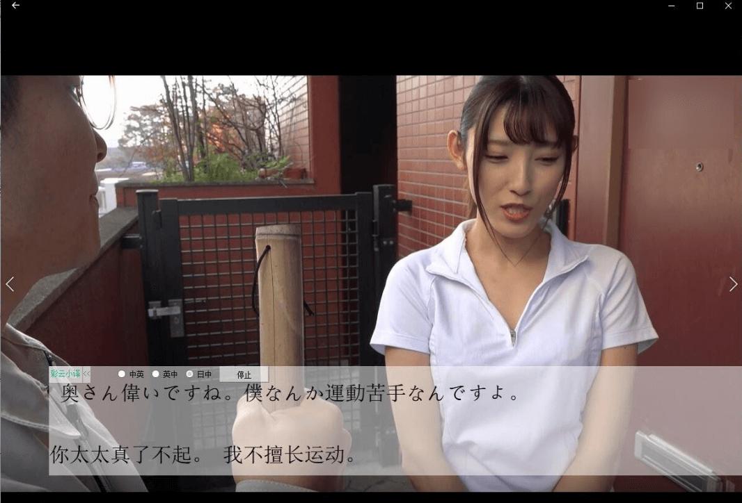 看XX电影不知道剧情?安利一款视频实时翻译成字幕的软件