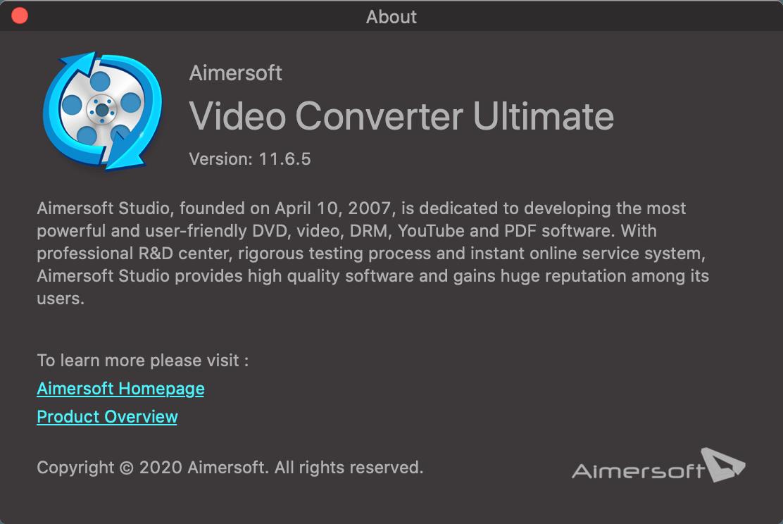 Aimersoft Video Converter Ultimate截图2