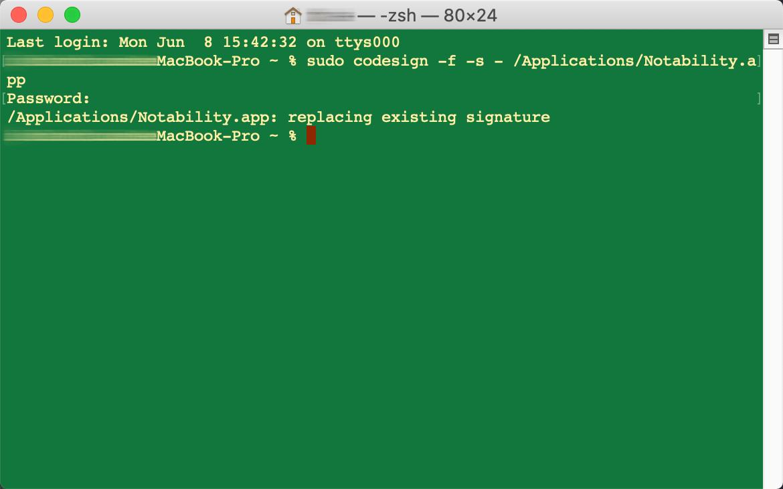 macOS 10.15.5 软件闪退解决方法