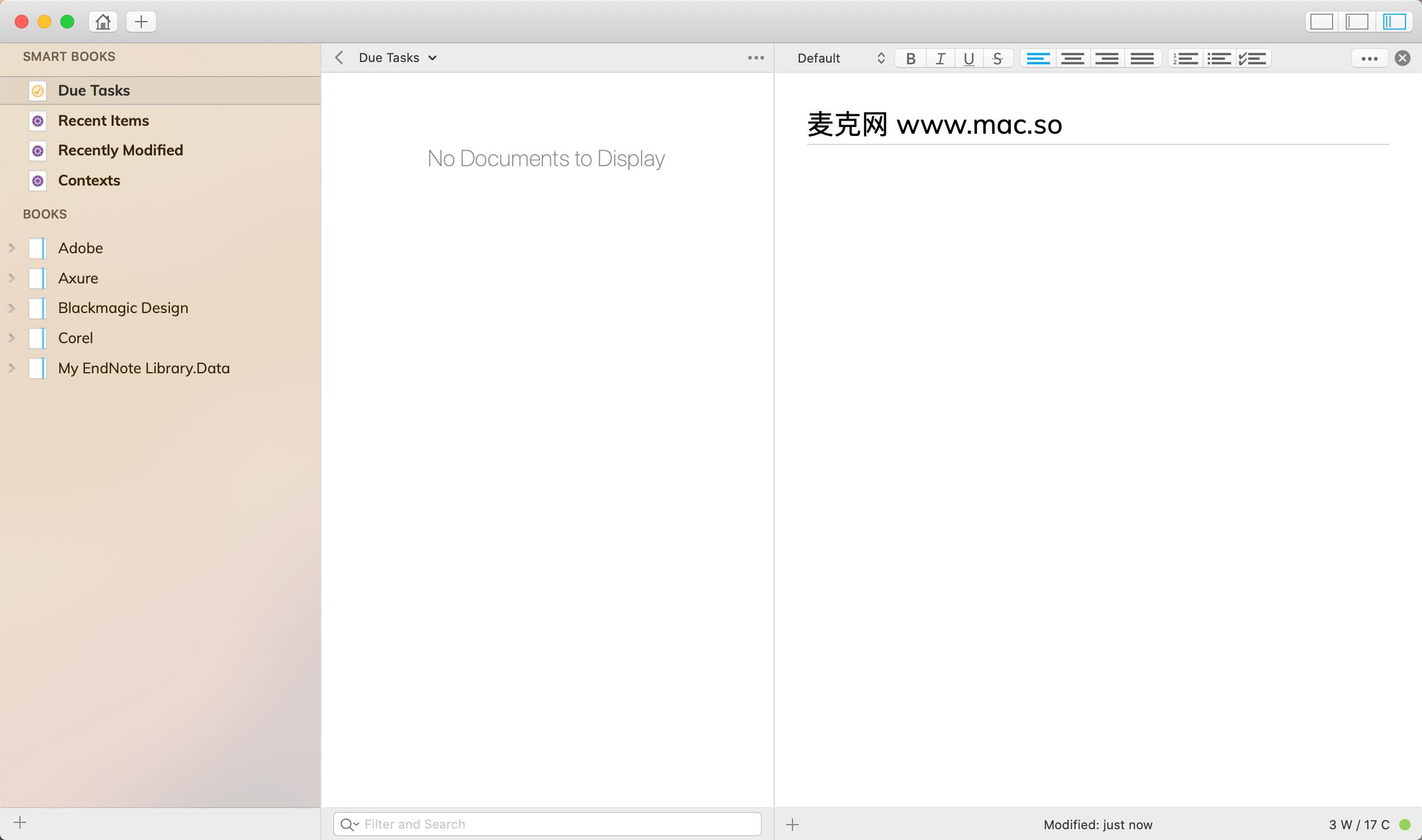 Notebooks Mac截图1