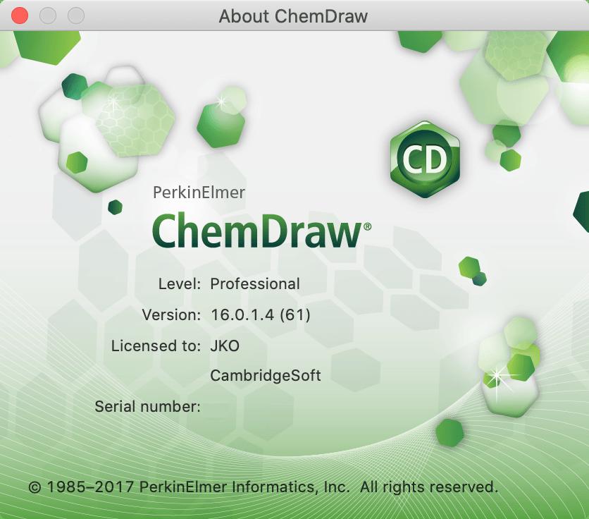ChemDraw Professional for Mac截图2