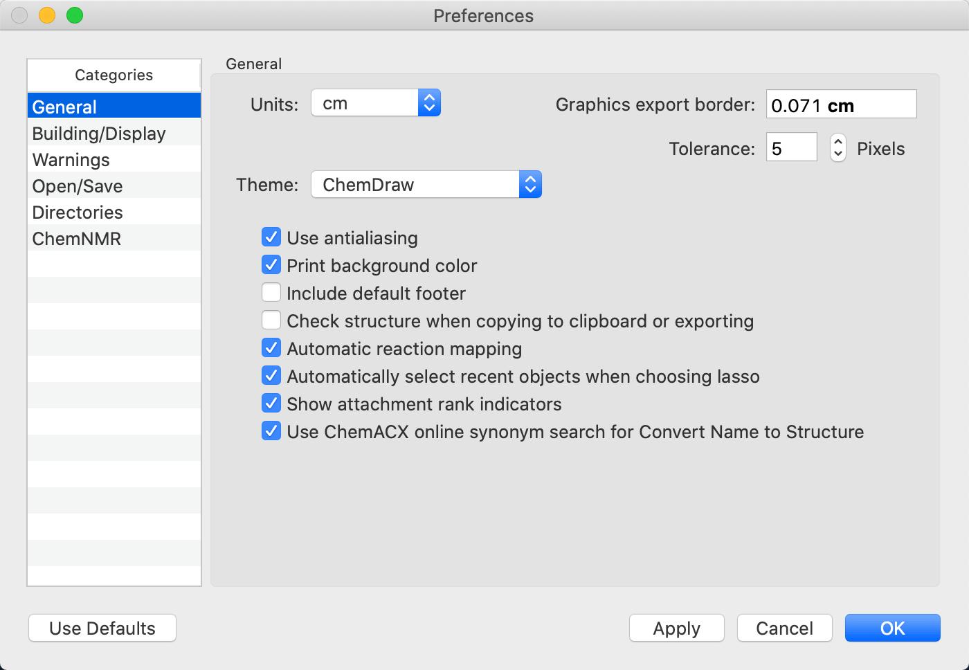 ChemDraw Professional for Mac截图3