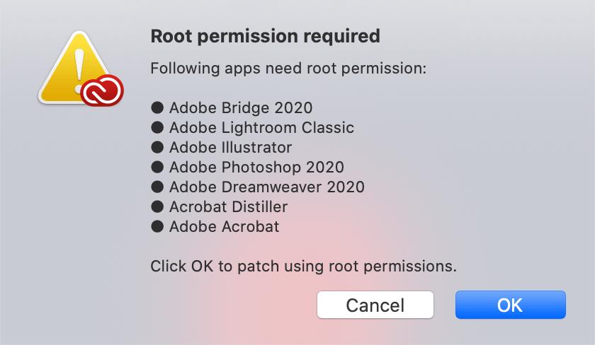 Adobe Zii 2021 Patcher for Mac截图2
