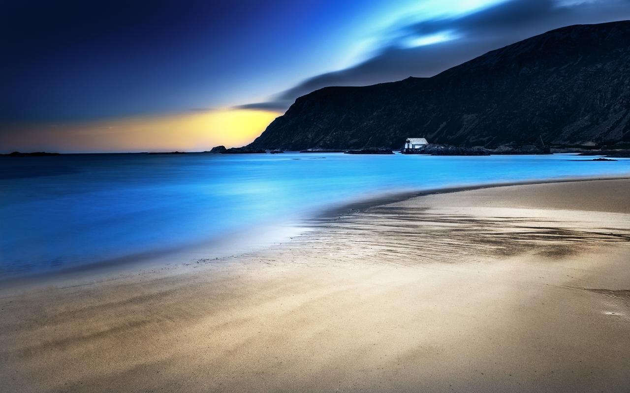 Light Blue Night