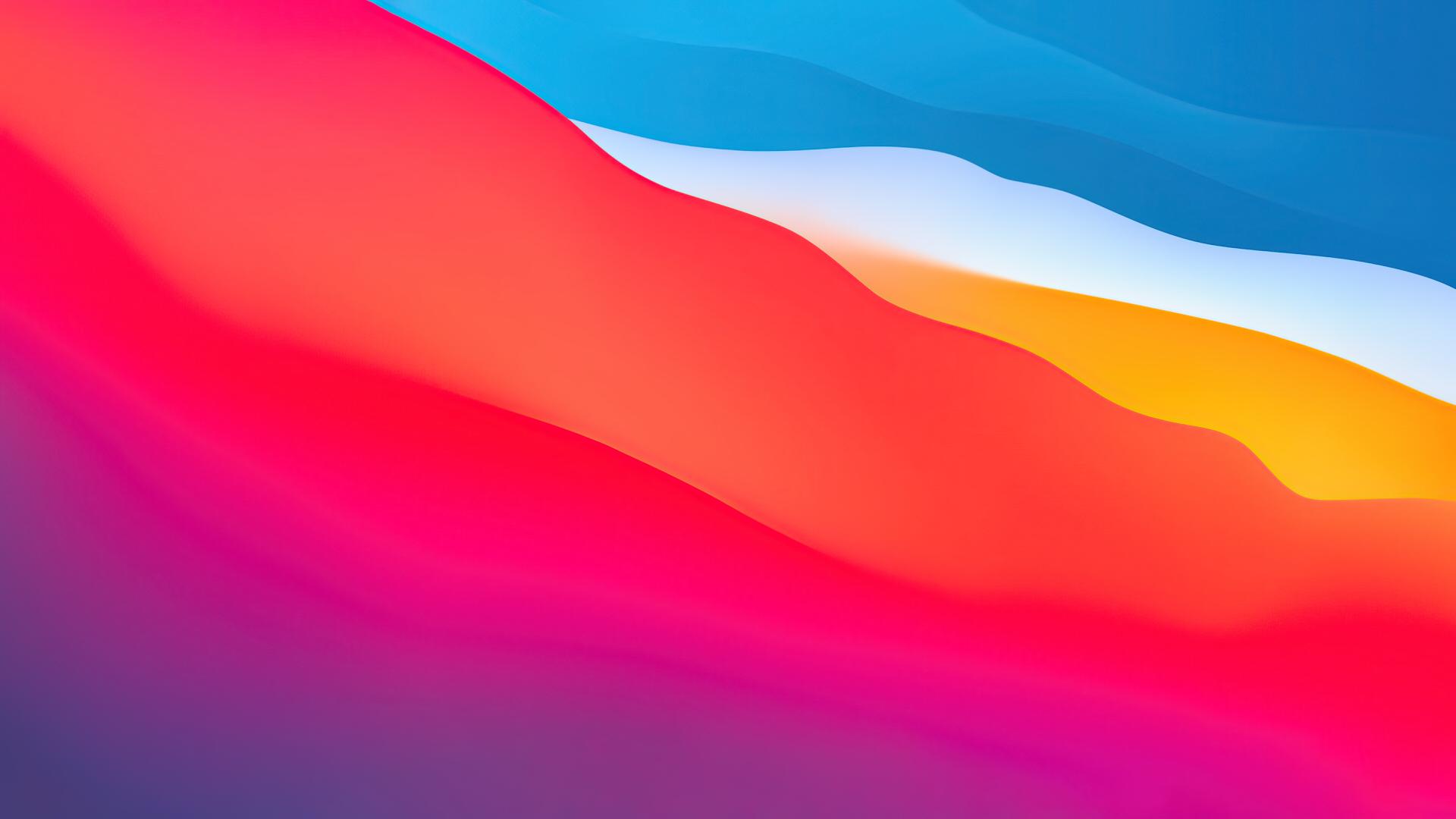 macOS Big Sur 壁纸