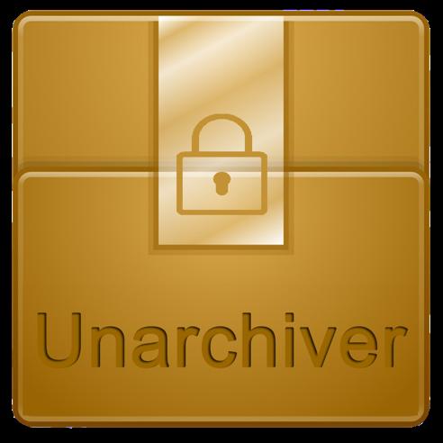 The Unarchiver - Unzip RAR ZIP 3.1.4